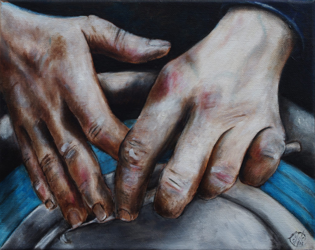 Potter's Wheel - Oil on Canvas - 2016