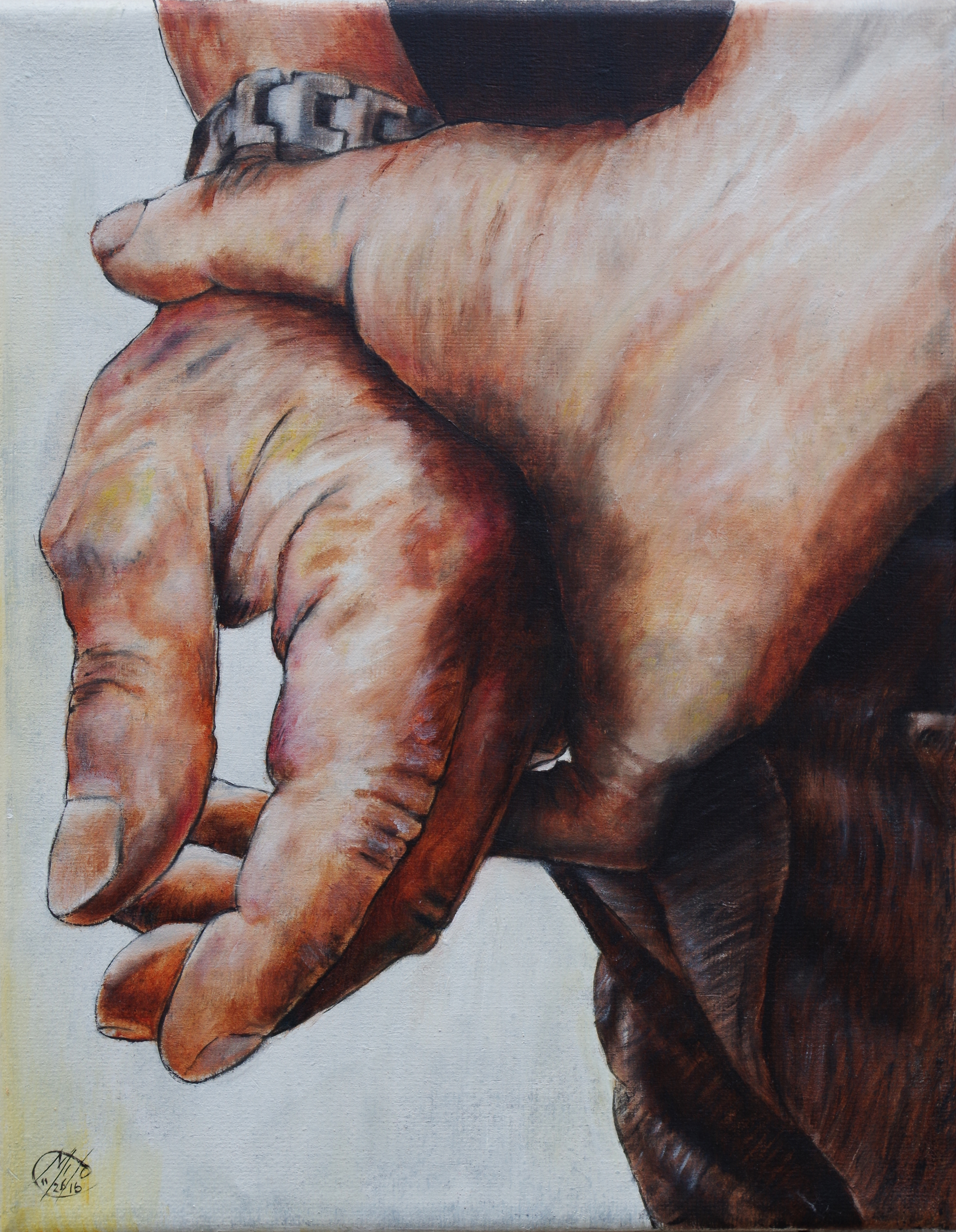 Hands - Oil on Canvas - 2016